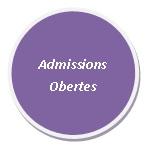 Admissions obertes