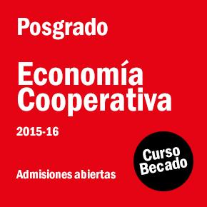 Posgrado en Economía Cooperativa ed. 2015-2016
