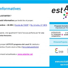 Estarter... te'l presentem?