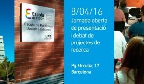 Jornada oberta de presentació i deba de projectes de recerca