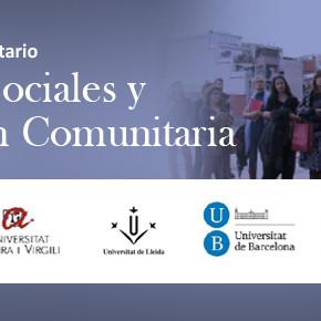 Admissions Màster en Polítiques Socials i Mediació Comunitària obertes