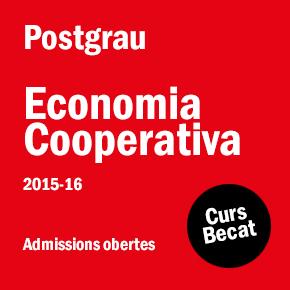 Postgrau en Economia Cooperativa 2015-2016