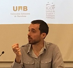 Nicolás Barbieri premiat Early Stage Career Researcher