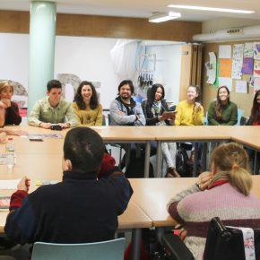 Primera trobada del Màster PSAC amb el centre ocupacional Can Carreras